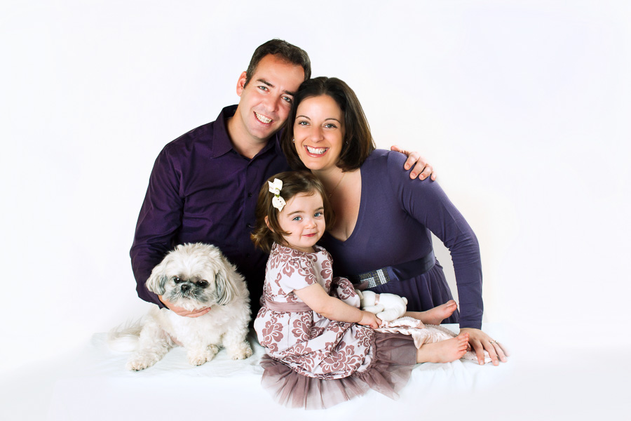 Potomac family Photographer professional studio family portrait
