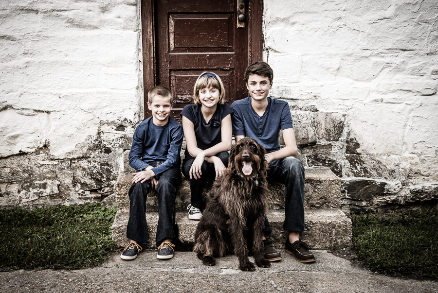 Potomac family Photographer professional outdoor family portrait