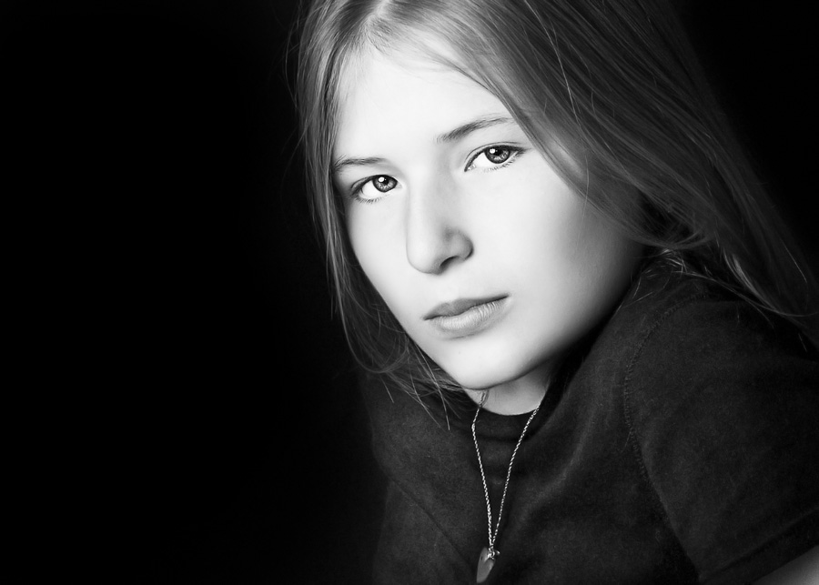 Potomac childrens Photographer professional studio portrait teen