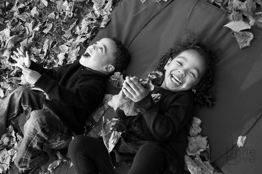 Potomac Maryland fall children's portrait outdoor